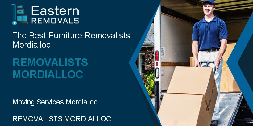 Removalists Mordialloc