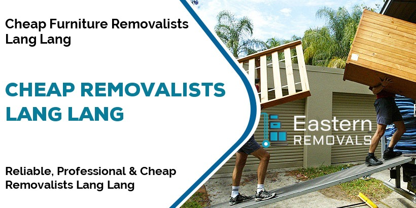Cheap Removalists Lang Lang