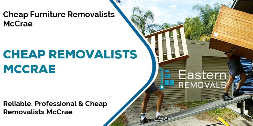 Cheap Removalists McCrae