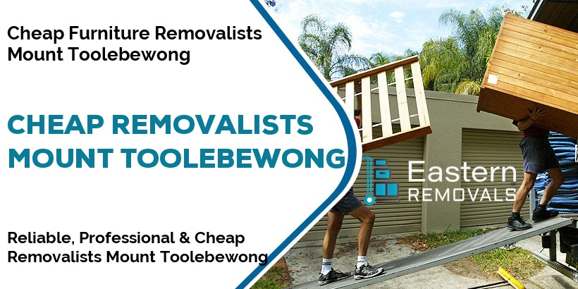 Cheap Removalists Mount Toolebewong
