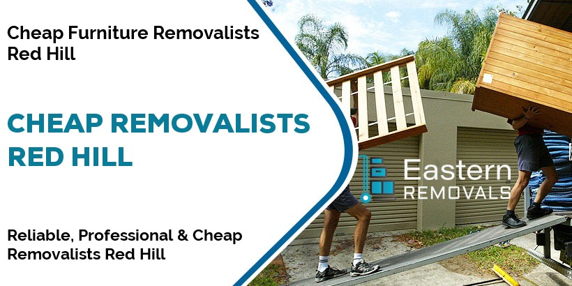 Cheap Removalists Red Hill