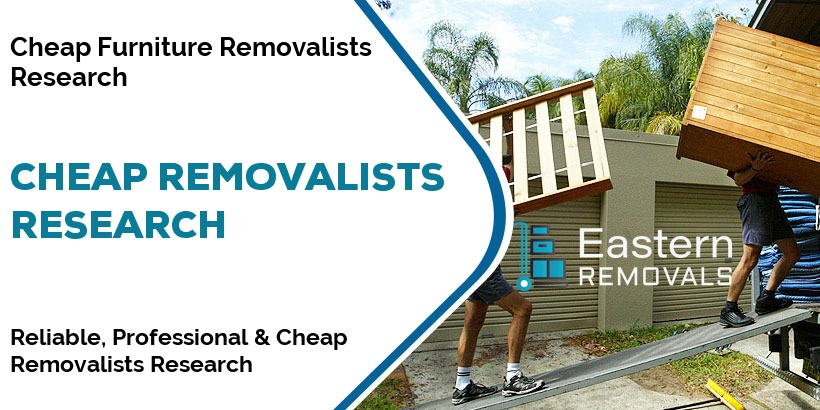 Cheap Removalists Research