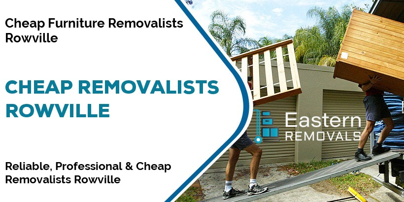 Cheap Removalists Rowville