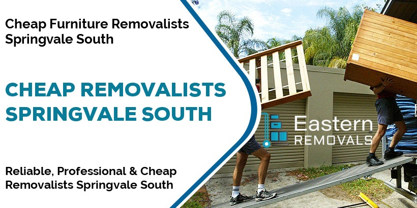 Cheap Removalists Springvale South