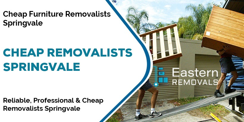 Cheap Removalists Springvale