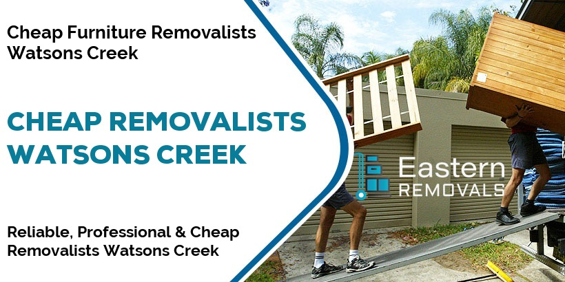 Cheap Removalists Watsons Creek