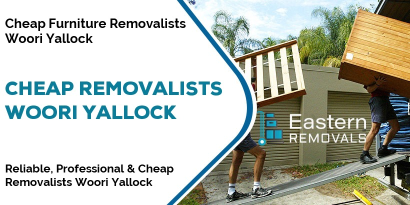 Cheap Removalists Woori Yallock