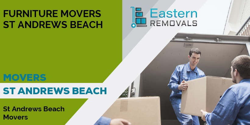 Movers St Andrews Beach