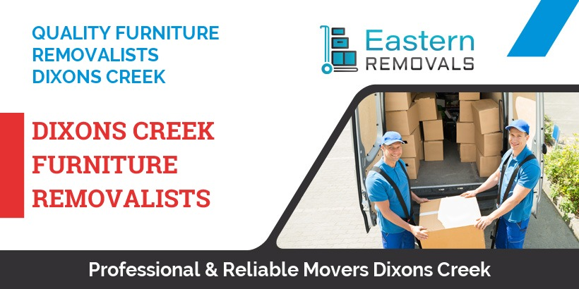 Furniture Removalists Dixons Creek