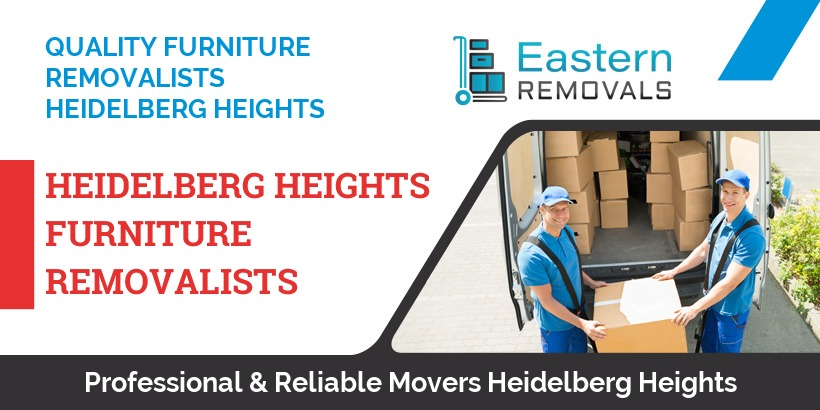 Furniture Removalists Heidelberg Heights
