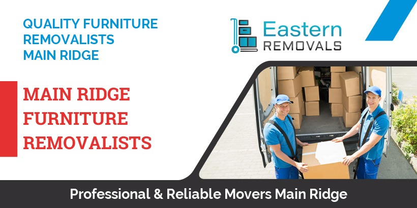 Furniture Removalists Main Ridge