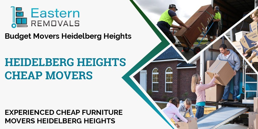 Cheap Movers Heidelberg Heights