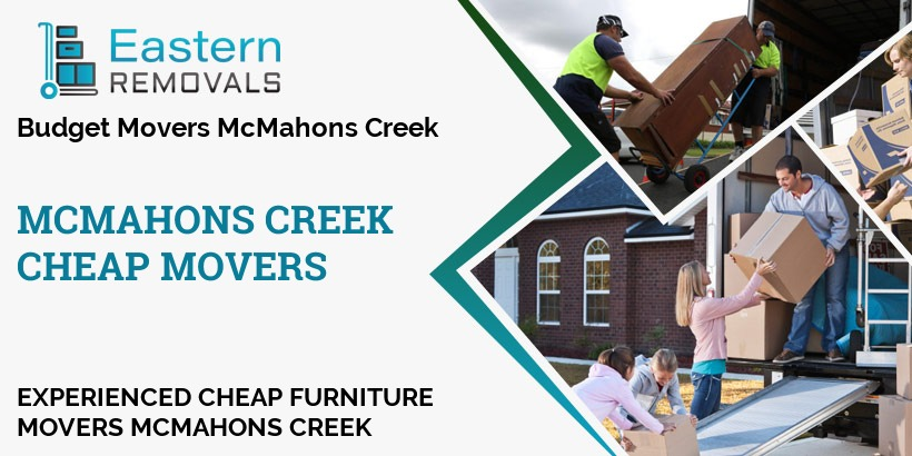 Cheap Movers McMahons Creek