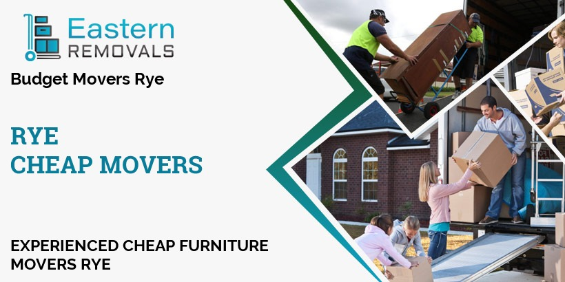 Cheap Movers Rye