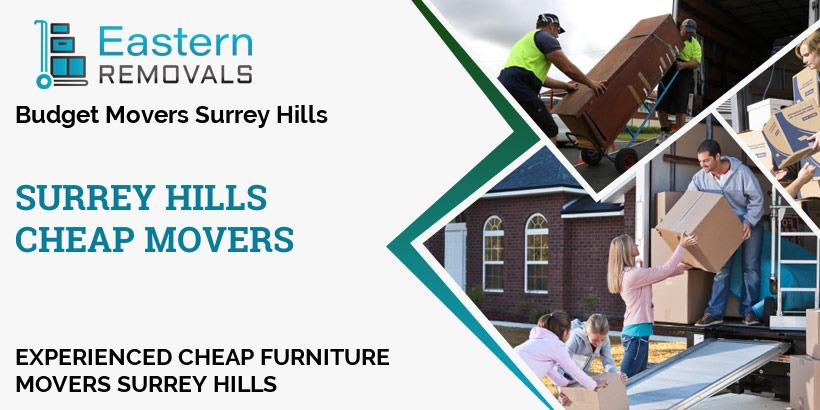 Cheap Movers Surrey Hills
