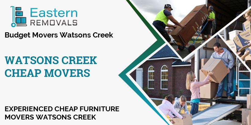 Cheap Movers Watsons Creek